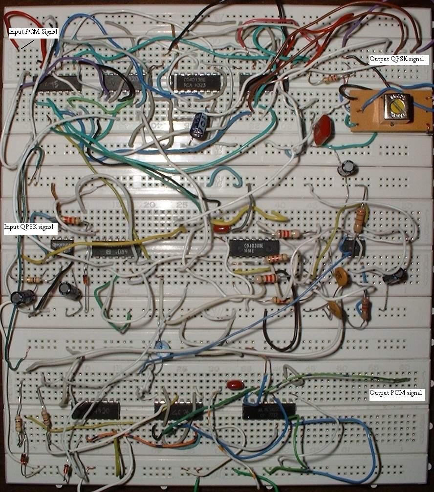 Qpsk Modulator Demodulator Simple Fm Circuit Diagram Electronic Diagrams Higher Resolution